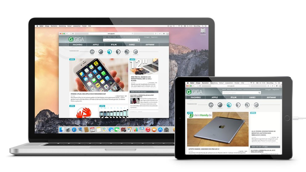 iPad als Monitor für OS X und Windows – 5 Apps im Test – GIGA