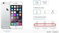 """iPhone 6 (Plus): Im Apple Store jetzt """"auf Lager"""""""