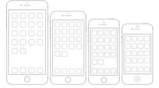 iPhone-Größenvergleich: PDF ausdrucken