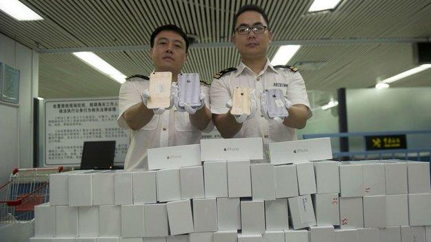 iPhone 6: Diebe stehlen 240 Apple Smartphones in China