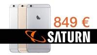 Im Online-Shop von Saturn: iPhone 6 Plus mit 64 GB für nur 849 Euro + weitere Angebote