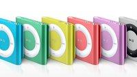 iPod shuffle wird nicht eingestellt