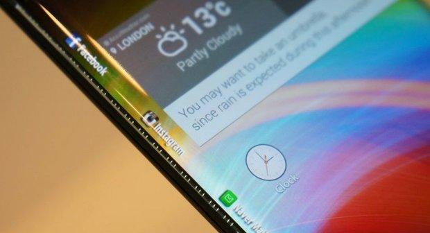 LG zeigt Smartphone-Prototypen mit dreiseitigem Display [CES 2015]