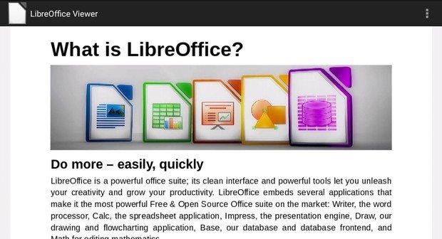 LibreOffice: Open Office-Ableger für Android verfügbar