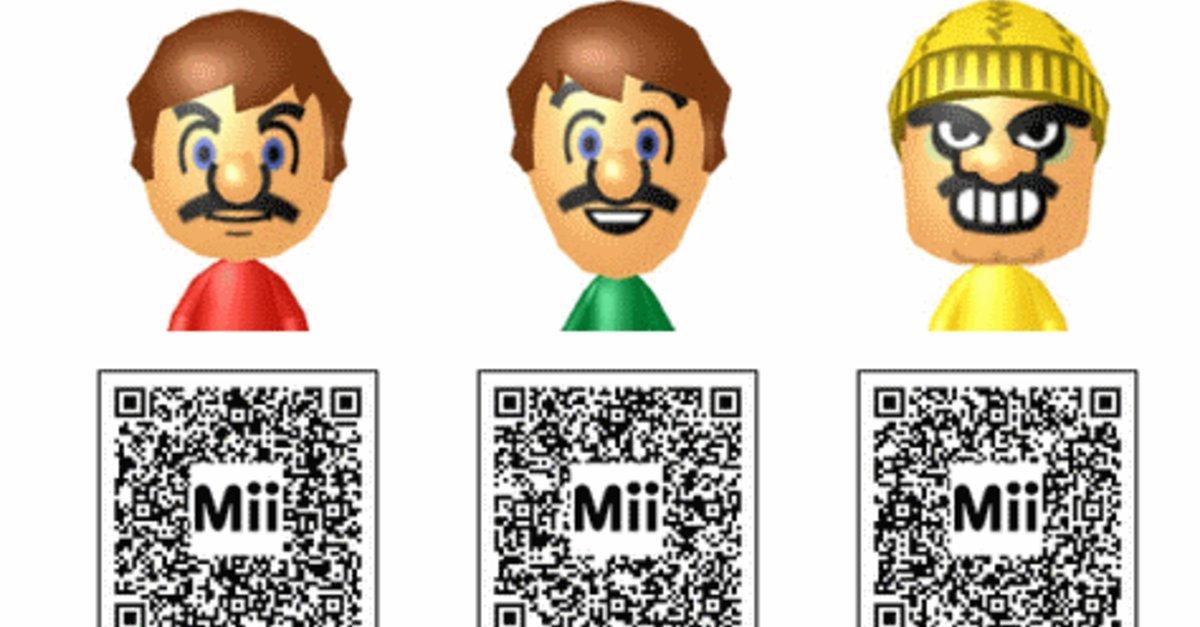 Dantdm Qr Code Mii List: Mii: QR Codes Für Pokémon, Mario, Anime Und Co. Für Wii U