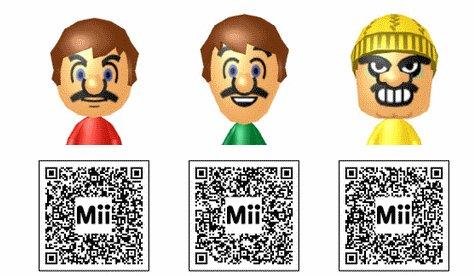 Mii: QR Codes für Pokémon, Mario, Anime und Co. für Wii U, 3DS und Wii