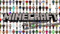 Die besten Minecraft-Skins aus Kino, TV und Games (+Downloads)