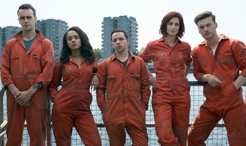 Konnte nicht mehr an den Erfolg der ersten zwei bis drei Staffeln anschließen: Der Cast aus Staffel 4 und 5.
