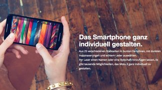 Moto Maker: Motorolas Design-Plattform für Smartphones