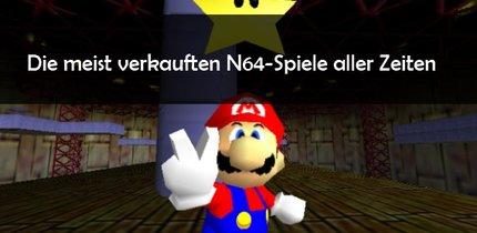 Nintendo 64-Spiele: N64-Top 10 Bestseller