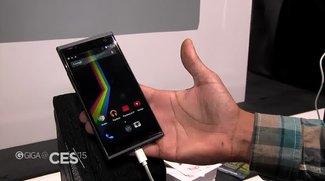 Polaroid Flip: Mittelklasse-Smartphone im Hands-On [CES 2015]