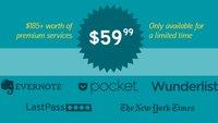 Produktivitäts-Apps Evernote, Wunderlist, LastPass & Pocket im Jahresabo über 70 Prozent günstiger [Update]