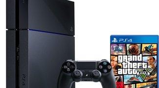 PS4: Limitiertes Bundle mit PS4 und GTA 5 für 399 Euro