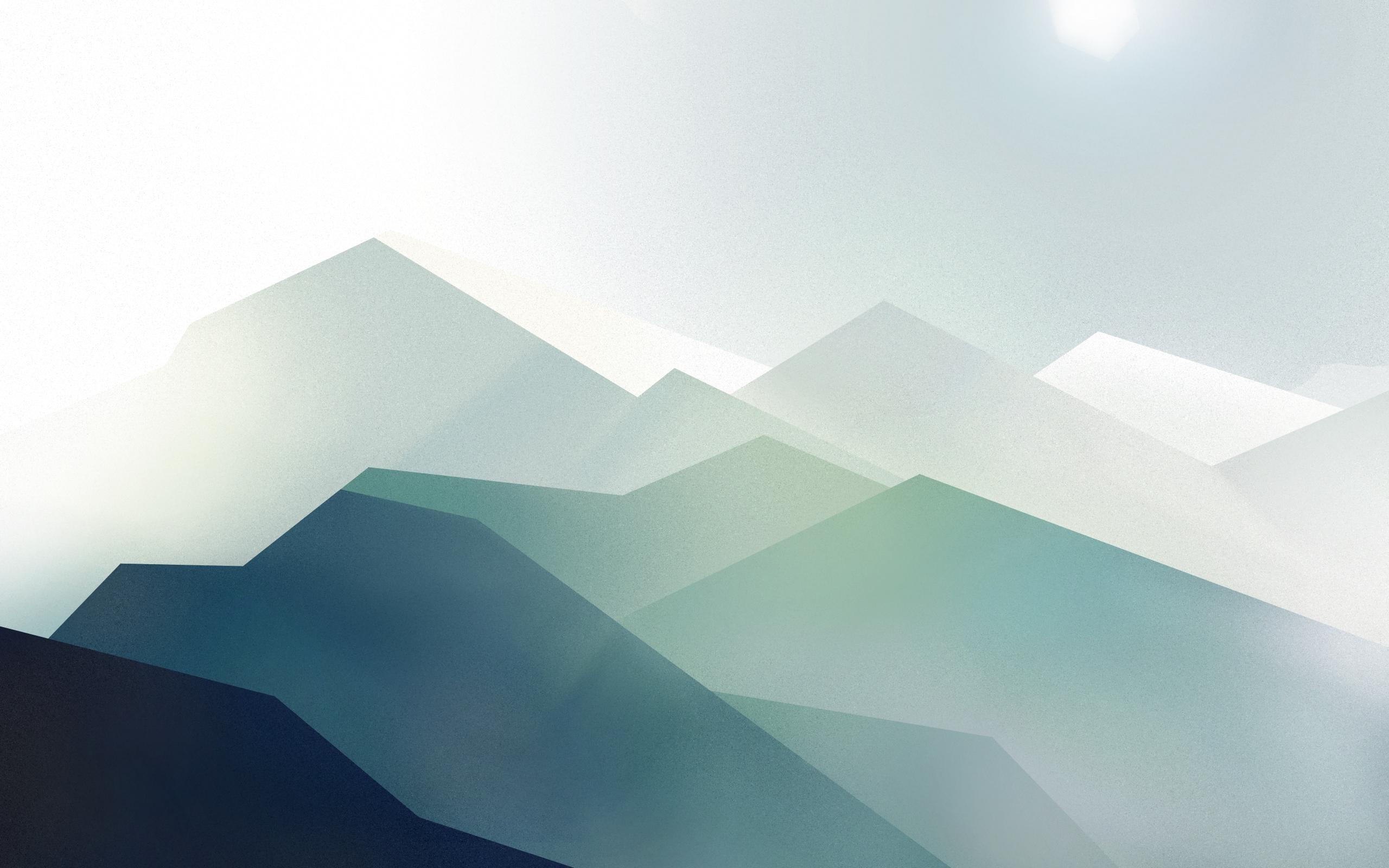 Wallpaper Der Woche: Gebirge Abstrakt