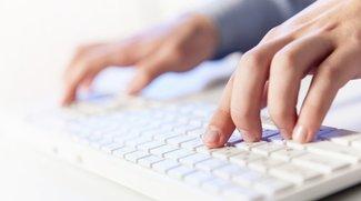 10-Finger-Schreiben lernen: Übungen und Programme zum schnellen Tippen
