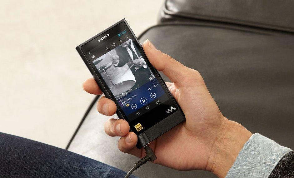 Sony NW-ZX2 High Resolution-Audio Walkman für 1.200 Euro vorgestellt [CES 2015]