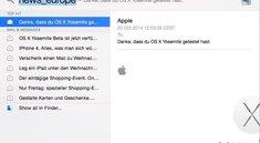 OS X Yosemite: Daten-Leck durch Spotlight-Vorschau