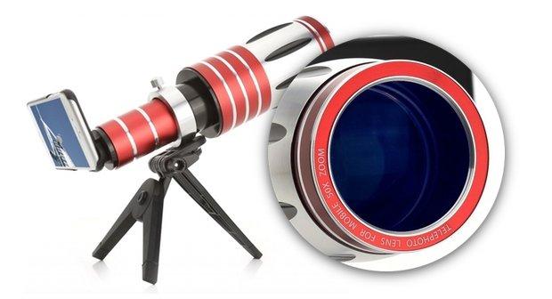iPhone 6-Teleobjektive mit Brennweite von bis zu 1500 mm (Fundstück)