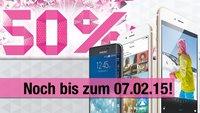 iPhone 6, iPhone 6 Plus und alle weiteren Smartphones: 50 Prozent Rabatt bei der Telekom