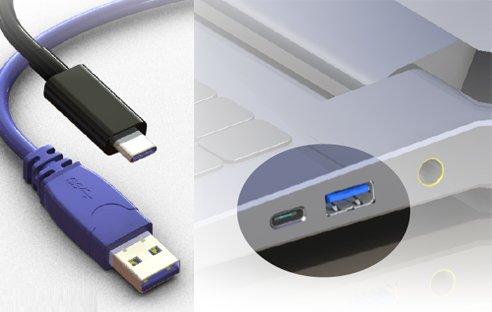 USB 3.1 mit einem Stecker vom Typ C wird eine Ladeleistung von bis zu 100 Watt unterstützen und damit Quick Charge das Leben schwer machen.