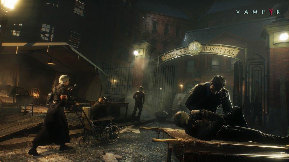 Vampyr: Als Schauplatz dient das durch die spanische Grippe gebeutelte London.