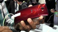 LG G Flex 2: Gebogenes Smartphone im Hands-On [CES 2015]