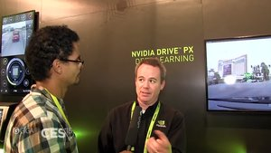 NVIDIA Drive PX Interview [CES 2015]
