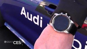 LG G Watch R mit NFC-Tag entsperrt Audi A7