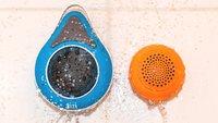 Wasserdichte Bluetooth-Lautsprecher im Test: tizi dusch'n'dance und Freecom TouchSpeaker
