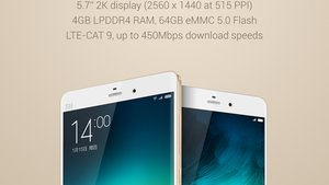 Xiaomi Mi Note Pro: Spezifikationen und Bilder