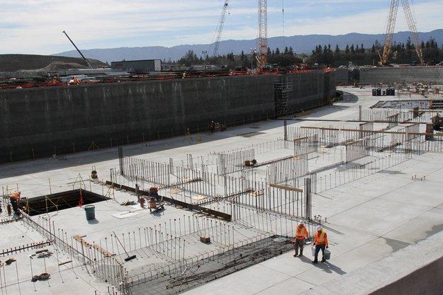 Apple Campus 2: Apple zeigt neue Fotos von Baustelle