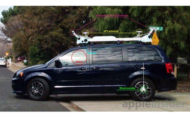 """Apple """"iCar"""" übernimmt """"3D-Mapping"""" für eigenen Kartendienst – kein autonomes Fahren"""