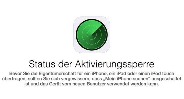 iPhones können für Diebe auch mit Aktivierungssperre attraktiv sein