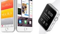 Apple Watch: Ein Blick in die Einstellungen der Companion-App