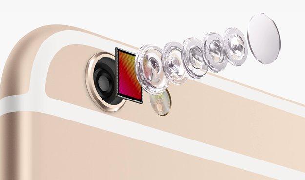iPhone 6s mit verbesserter 8 Megapixel-Kamera