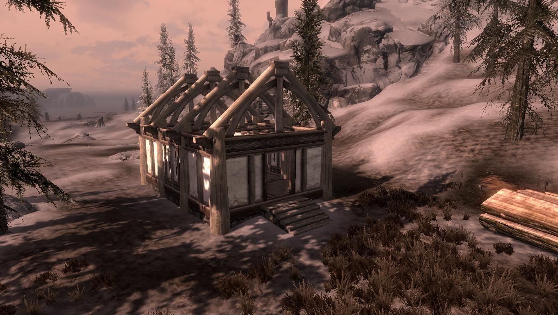 Skyrim Haus Bauen Mit Hearthfire Von Der Baustelle Zum Anwesen GIGA - Minecraft hauser schnell bauen