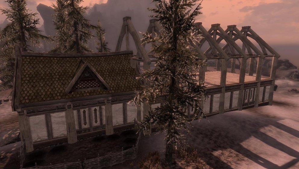 Skyrim Haus Bauen Mit Hearthfire Von Der Baustelle Zum Anwesen