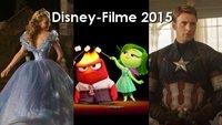 Disney-Filme 2015: Alle Kinostarts aus dem Hause von Pixar, Marvel und Co.