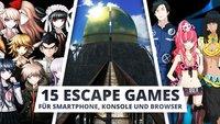 Escape Games: Die 15 besten Spiele für Smartphone, Browser und Konsole