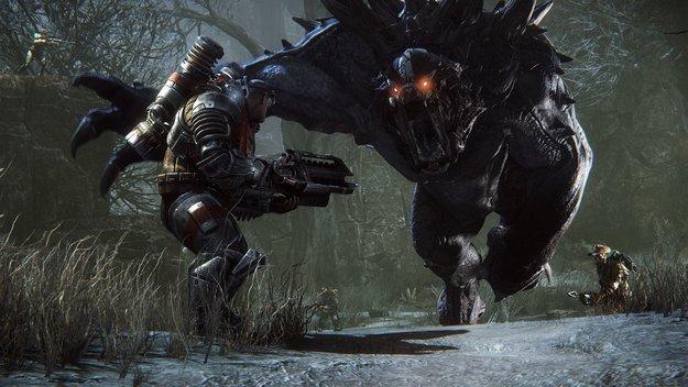 Evolve: In den Games-Charts vor GTA 5 und Fifa 15