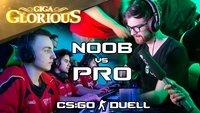 GIGA Glorious: Noob vs. Pro - Das CS:GO-Duell