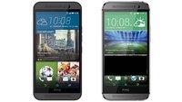 HTC One M9 vs. One M8: Technische Daten im Vergleich