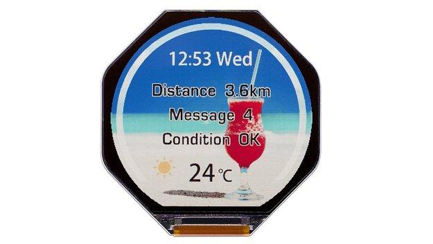 JDI präsentiert besonders sparsame Display-Panels für Smartwatches