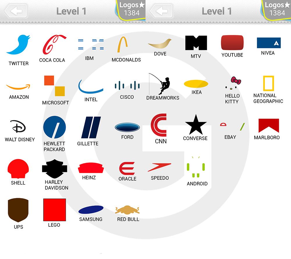 logo quiz extra levels l246sungen expert level 1 giga