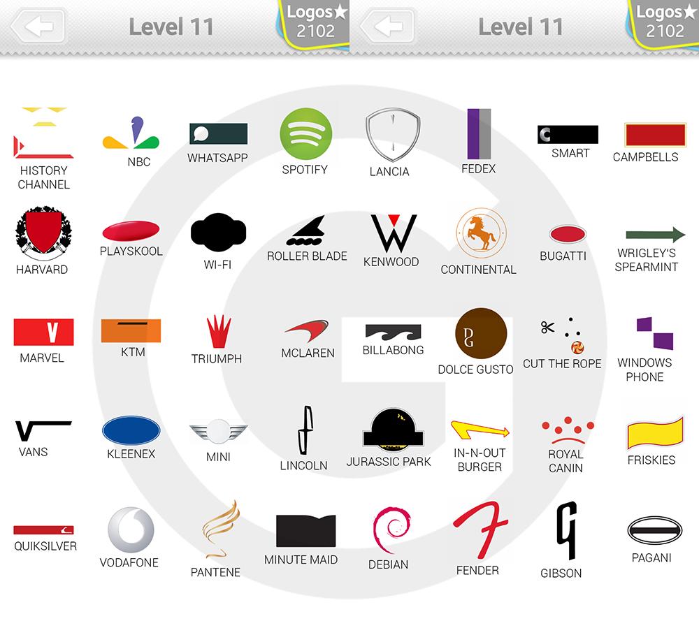 logo quiz expert niveau 11