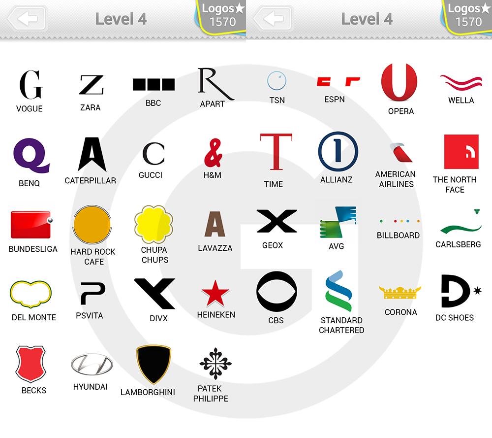 logo quiz level 4 lösungen