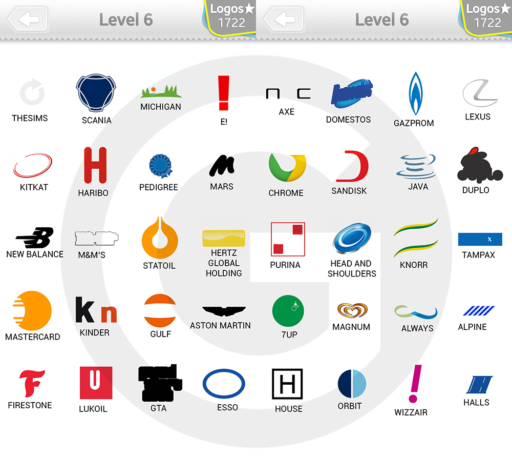 logo quiz extra levels l246sungen expert level 6 giga
