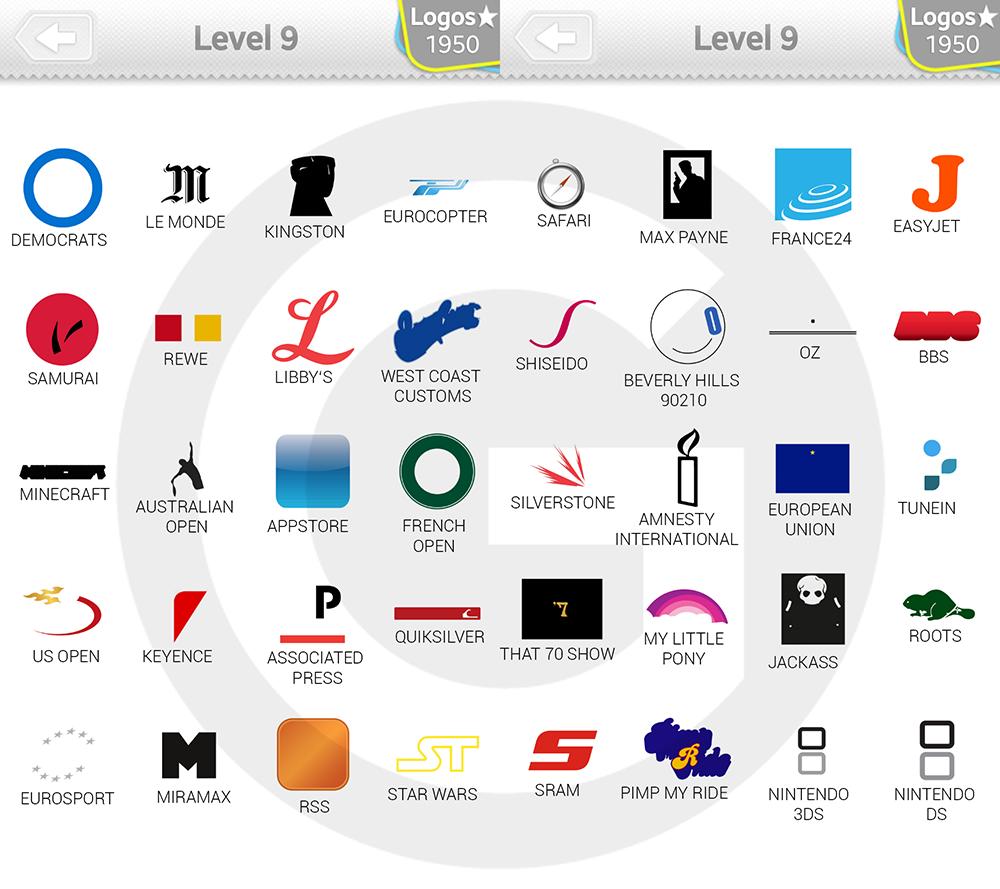 logo quiz expert niveau 9