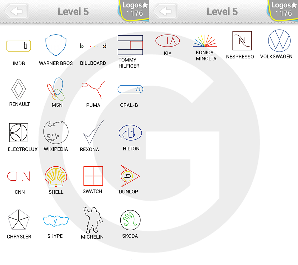 Logo Quiz Extra Levels L 246 Sungen Minimalist Level 5 Giga