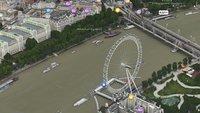 Apple Maps mit bewegten Bildern: Das London Eye rotiert